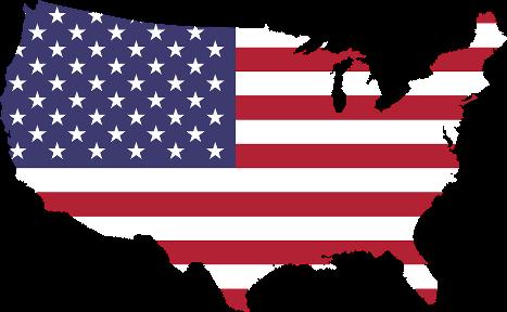 Description : Amérique, Art, Frontières, Cartographie, Pays, Drapeau